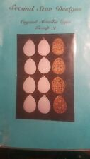 Second Star Designs - Creystal Metallic Eggs, Group 9 (Pattern)