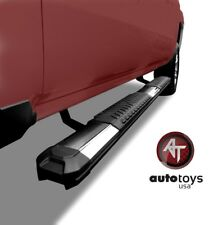2009-2014 Ford F-150 Crew Cab Stainless Side Steps Running Boards Nerf Bars