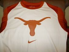Nike Dry Dri-fit Texas Longhorns Long Sleeve Practice Shirt Jersey Men's XL
