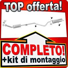 Scarico Completo PEUGEOT 307 1.6 16V 2001-2008 Marmitta 411B