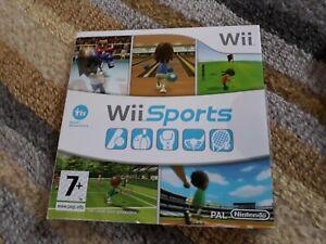Nintendo Wii Sports Game In Original Card Cover