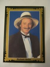 Richard Geiler 1993 Pro Billliards Tour, Portrait, Card #43 (MS-12)