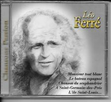 CD COMPIL 11 TITRES--LEO FERRE--CHANSONS PASSION--NEUF