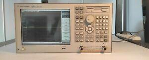 Agilent E5062A 300kHz-3GHz  Vector network Analyzer options 016 100 250 Tested