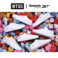BTS BT21 OfficiaI Authentic Goods ROYAL COMPLETE2LCS Shoes by Reebok Classic