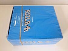 25 BLUE KING SIZE SLIM RIZLA CIGARETTE SMOKING ROLLING PAPERS ORIGINAL BOOKLETS