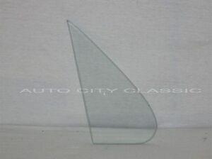 Vent Glass 1961 1962 Buick Chevrolet Pontiac 2 Door Sedan Clear Wing Window