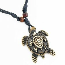 Cute Sea turtle Mother and Child pendant necklace