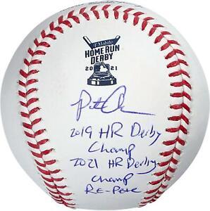 Autographed Pete Alonso Mets Baseball Fanatics Authentic COA Item#11449429