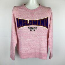 Vivienne Westwood Anglomania Sweatshirt Pink Logo 38 Made in Japan