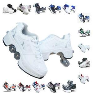 Roller skates shoes 2 IN 1 For Unisex