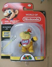 "World of Nintendo BABY BOWSER JNR. 3.25"" ACTION FIGURE Jakks Pacific NOT amiibo"