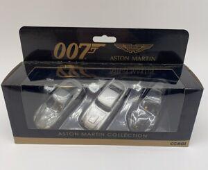 Corgi TY99284 007 James Bond Aston Martin Collection New Triple Pack New Stock