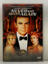 DVD Never Say Never Again - FREE POST #V2