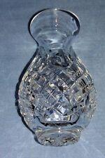 "Vintage Stuart Crystal Cut Glass Shaftesbury 4"" Chloe Vase"