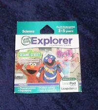 LeapFrog LeapPad / Leapster Explorer Game Sesame Street