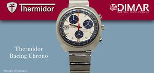 Vintage THERMIDOR Racing Chrono. Automatic CAL.TDB1376 Jrgk. Calendar To The 9