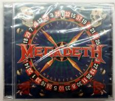 MEGADETH CAPITOL PUNISHMENT THE MEGADETH YEARS CD SEALED 2000