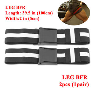 BFR Fitness Occlusion Bands Blood Flow Restriction Bands for Arms Legs Training