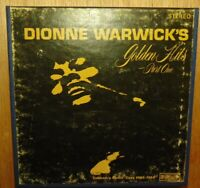 DIONNE WARWICK'S GOLDEN HITS SCX 565 Reel To Reel 4 TRACK 3-3/4IPS STEREO TAPE