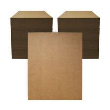 "200 - 16"" x 20"" Corrugated Cardboard Kraft Pads Inserts Sheet 32 ECT Made in USA"
