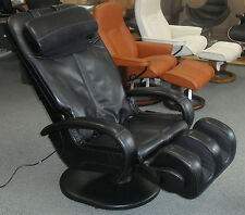 Black HT-5040 WholeBody® Massage Chair Massaging Recliner - Full Body Stretching