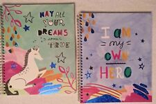 Unicorn & My Own Hero subject notebooks Prancing With The Stars by Studio C New