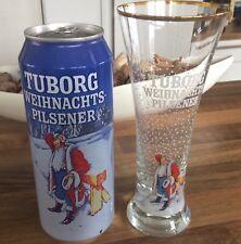 TUBORG Weihnachtsbier inklusive 0,2 Ltr. Glas, Sammlerstücke