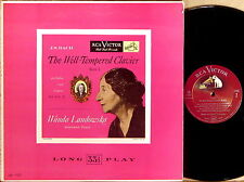 RCA SHADED DOG JS Bach WANDA LANDOWSKA Well-Tempered Clavier Book 1 LM-1107