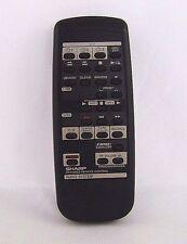 ORIGINAL SHARP RRMCG0099AWSA INFRARED AUDIO SYSTEM REMOTE