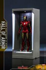 """Hot Toys MMSC008 MK4+Gnaku Armored Mini Iron Man Display Box """"Iron Man 3"""" Toys"""