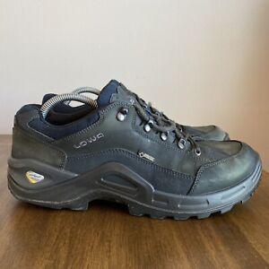 LOWA Renegade GTX II Lo Men Sz 11.5 Vibram All Terrain Hiking Black Boots Sku:48