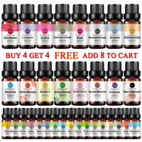 Pure Natural Essential Oils Aromatherapy Therapeutic Grade Diffuser 10ml 30ml UK