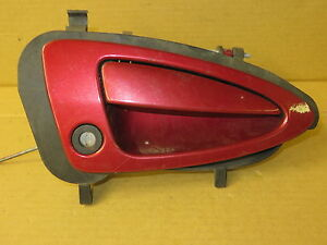 MERCURY COUGAR 99-02 1999-2002 EXTERIOR DOOR HANDLE & BEZEL w/o KEY PASSENGER RH