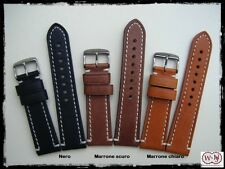 Cinturini per orologi in vera pelle 20-22-24mm. Leather straps watch. ENTRATE!!!