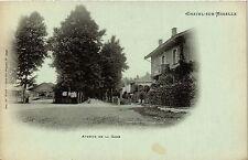 CPA Chatel sur Moselle - Avenue de la Gare (279206)