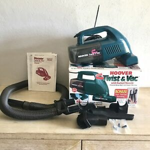 Hoover Twist & Vac with Swivel Nozzle + 4 piece Tool Set -Powered Brush Roll!