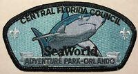 CENTRAL FLORIDA COUNCIL BSA TIPISA OA LODGE 326 SEA WORLD SHARK RARE CSP