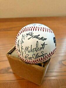 Vintage  Starting Lineup Facsimile Autographed All Star Baseballs NL and AL...