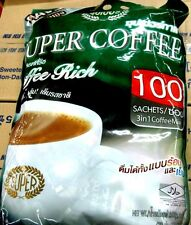 SUPER COFFEE  INSTANT  3 in 1 COFFEE POWDER  2000 g. 20g. X 100 SACHETS