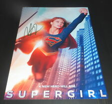 """SUPERGIRL PP SIGNED 12""""X8"""" A4 PHOTO POSTER MELISSA BENOIST"""