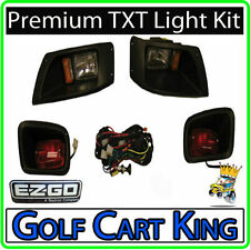 Premium EZGO TXT Golf Cart Headlight - Tail Light Kit
