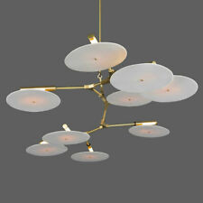 Modern 3-11 lights CD Record Flying Saucer Chandelier Suspension lamps LIght
