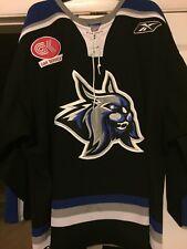 ECHL 2007-08 AUGUSTA LYNX GAME WORN JASON KOSTADINE HOCKEY JERSEY