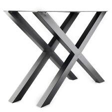 2X Table Legs Dining Table Leg Metal Steel Dining Room Furniture Parts Black