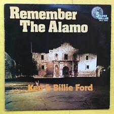 Ken & Billie Ford - Recuerde The Alamo - Plateado Dollar SDLA-4002 Ex Estado