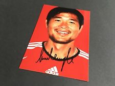 KIM-LIM TEONG FC BAYER MÜNCHEN signed Photo 10x15