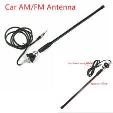 """16"""" Auto Car Roof Mount Radio AM/FM Amplified Antenna Aerial Spring Soft Rod"""