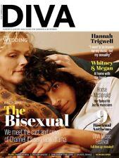 DIVA MAGAZINE NOVEMBER 2018 - THE BISEXUAL - HANNAH TRIGWELL - WHITNEY & MEGAN