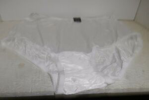 Vanity Fair Women's 15712 Perfectly Yours Ravissant  Brief White Size 12/5XL New